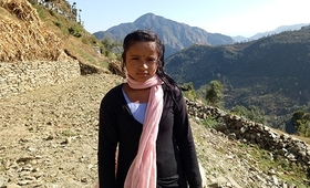 """If I quit my studies, I will be married off immediately,"" said Kabita, 16, in Nepal. © UNFPA Nepal/Dhana Bahadur Lamsal"